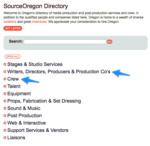 jobs in the movie industry