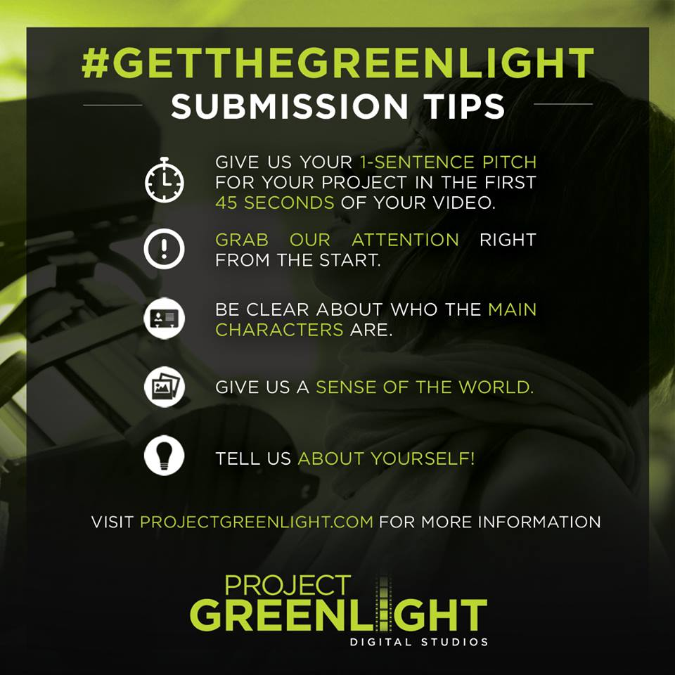 pitch video project greenlight